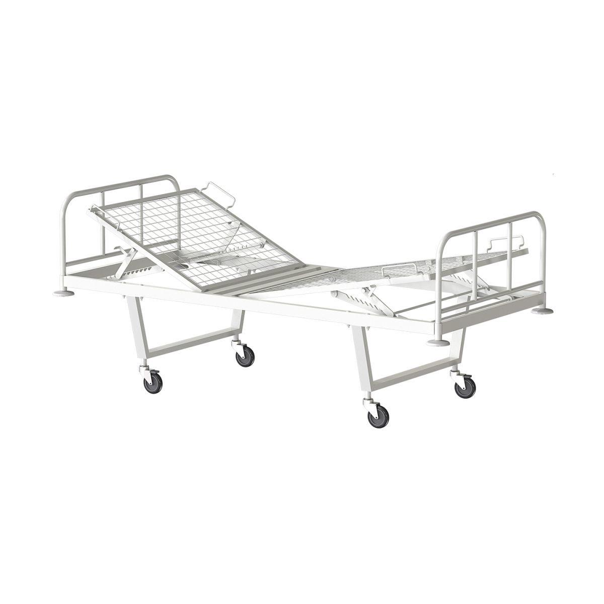 Кровать медицинская функциональная двухсекционная КФ2-01-МСК