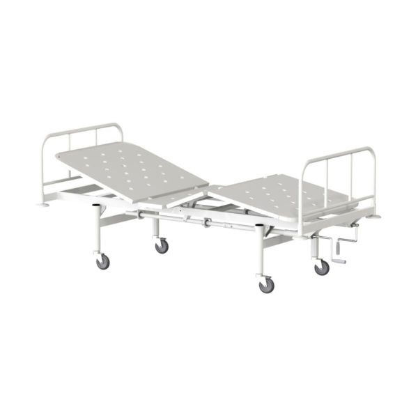 Кровать функциональная трехсекционная КФ3-01-МСК на колесах