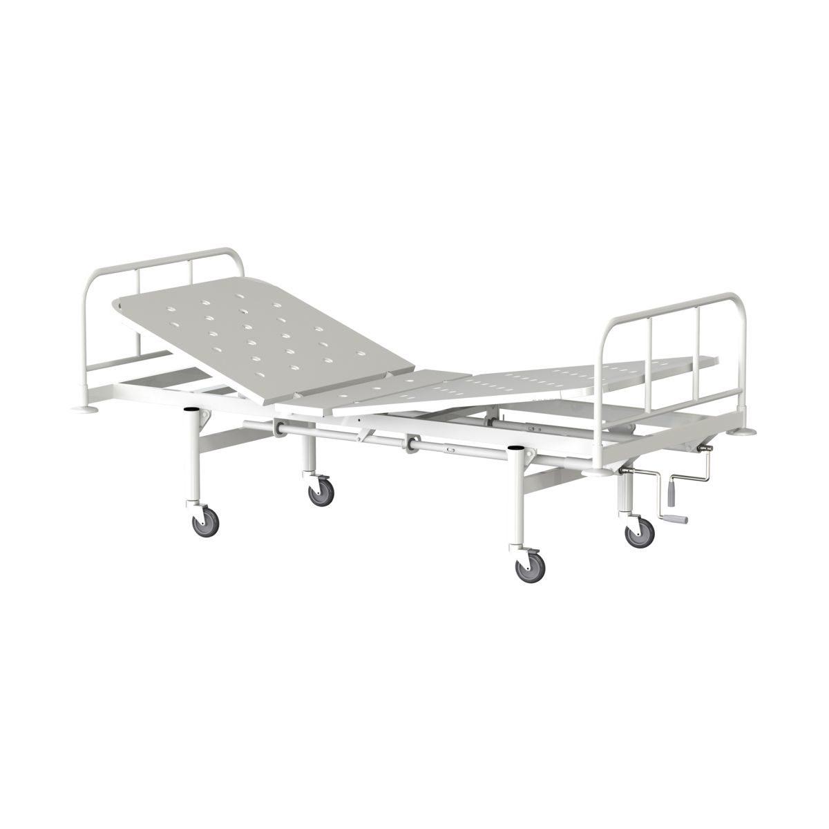 Кровать медицинская функциональная двухсекционная КФ2-01-«МСК»