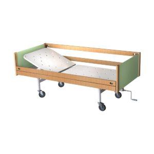 Кровать медицинская функциональная двухсекционная КФ0-01-«МСК»